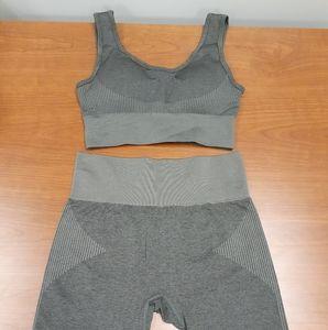 Yoga Bra and short set